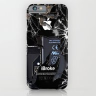 iPhone & iPod Case featuring Broken, Rupture, Damaged… by Three Second