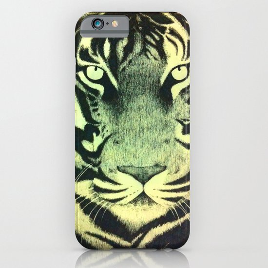 Be a Tiger (Yellow) iPhone & iPod Case