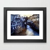 Irish Village Framed Art Print