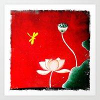 Vietnamese Landscape Art Print