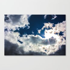 Too Blue Canvas Print