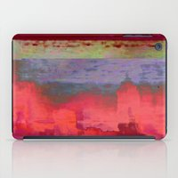 14-42-41 (City Glitch) iPad Case