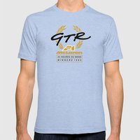 20th Anniversary - McLaren Wins Le Mans! Mens Fitted Tee Tri-Blue SMALL