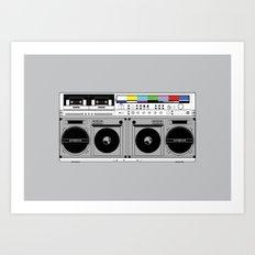 1 kHz #10 Art Print