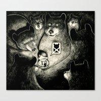 BearScare.App Canvas Print