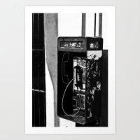 Tapped Art Print