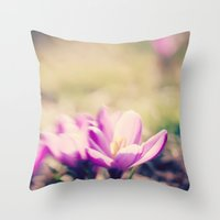 Lensbaby Flower  Throw Pillow