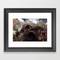 Rust Bucket Framed Art Print