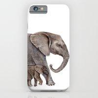 elephants iPhone & iPod Cases featuring Elephants by Goosi
