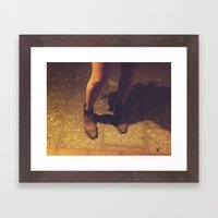 Boots Framed Art Print