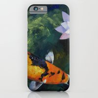 Showa Koi and Water Lily iPhone 6 Slim Case