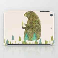 the forest keeper iPad Case