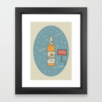 Berliner Kindl Framed Art Print