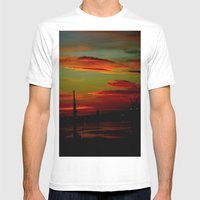 Port Of Portland - Austr… Mens Fitted Tee White SMALL