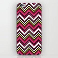 Pink Chevron iPhone & iPod Skin