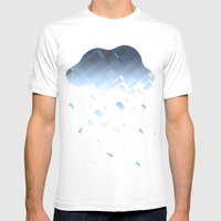 Cloud Mens Fitted Tee White SMALL