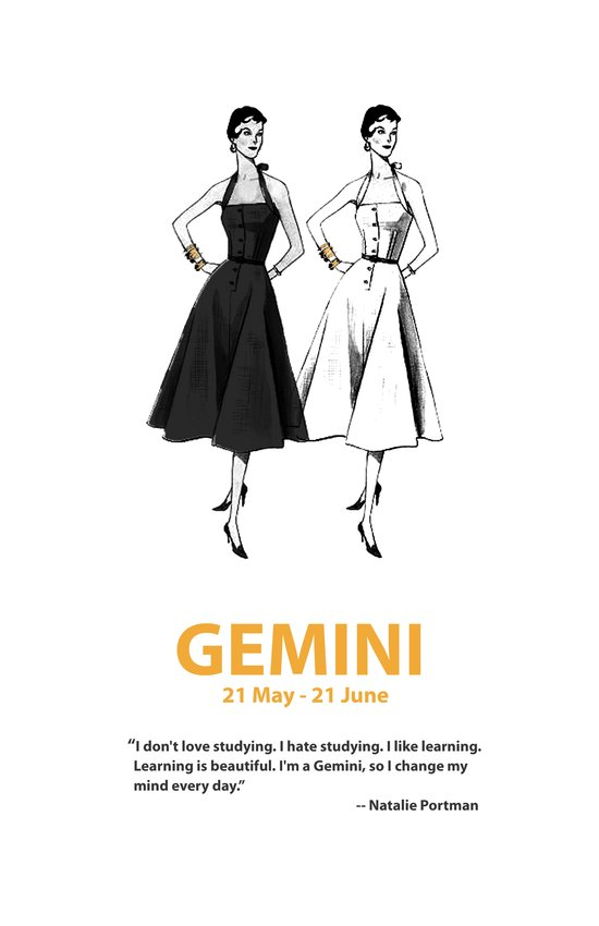 Gemini Art Print