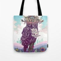 Journeying Spirit (Owl) Tote Bag
