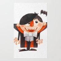 Dracula Kid Rug