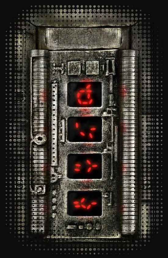 I-Yautja....Predator gauntlet Iphone case. Art Print