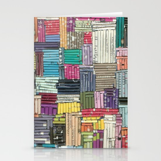 Collage Stationery Card