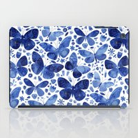 Blue Butterflies iPad Case