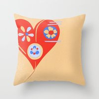 For The Love Of ... Throw Pillow