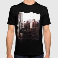 Vanished Mens Fitted Tee Black SMALL