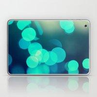 Blue Bokeh 2 Laptop & iPad Skin