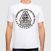 Agent Orange Mens Fitted Tee Ash Grey SMALL