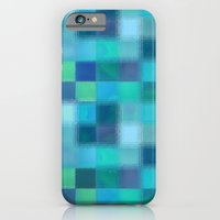Blue Squared iPhone 6 Slim Case
