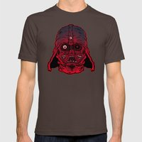 Monster Vader Mens Fitted Tee Brown SMALL
