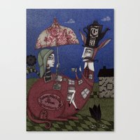 Tea For Two (1) Canvas Print