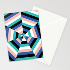 Heptagon Quilt 3 Stationery Cards