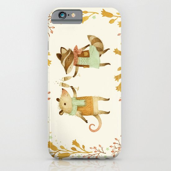 Cheers! From Pinknose the Opossum & Riley the Raccoon iPhone & iPod Case