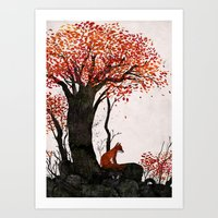 Fantastic Mr. Fox Doesn'… Art Print