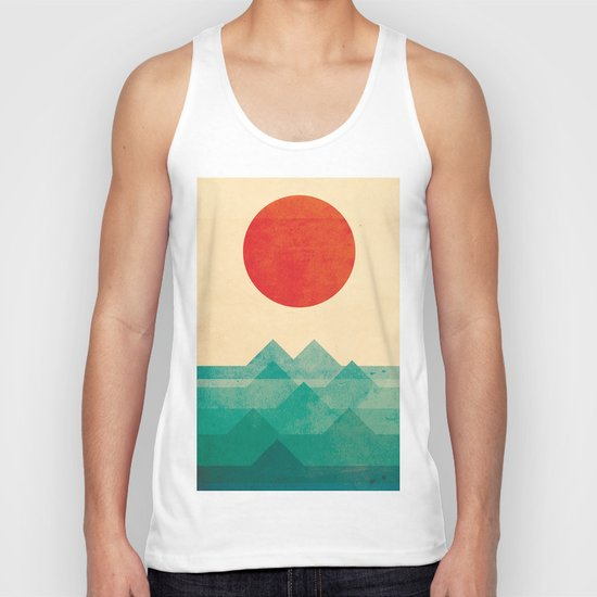 The ocean, the sea, the wave Unisex Tank Top