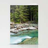 Flowing River Stationery Cards