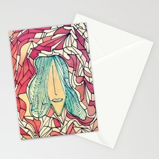 I long for the mountains. Stationery Cards
