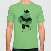 The Animal Jamboree Mens Fitted Tee Grass SMALL