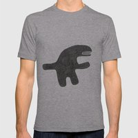 I'm Not Dangerous Mens Fitted Tee Athletic Grey SMALL