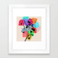 grow 1 Framed Art Print