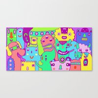 Monster Picture Canvas Print