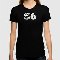S6 Art Supplies 2 Womens Fitted Tee Black SMALL