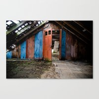 Attic Canvas Print