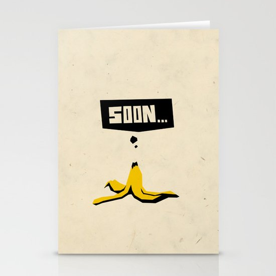 soon... Stationery Card