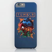 iPhone Cases featuring Social Networks / Tumblr by Ivan Belikov