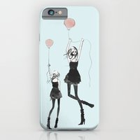 iPhone & iPod Case featuring Girls Afloat by Allison Reich