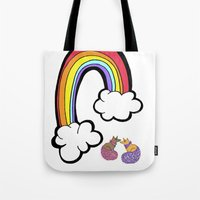 U. R. A FOXY RAINBOW! Tote Bag