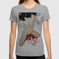 579830 Womens Fitted Tee Athletic Grey SMALL